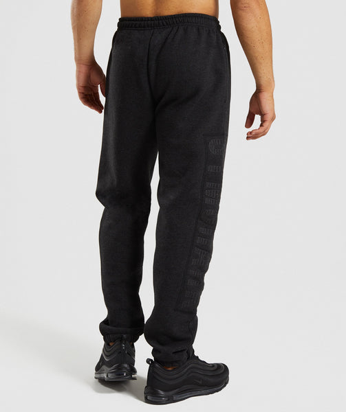 Gymshark Oversized Jogger - Charcoal Marl 1