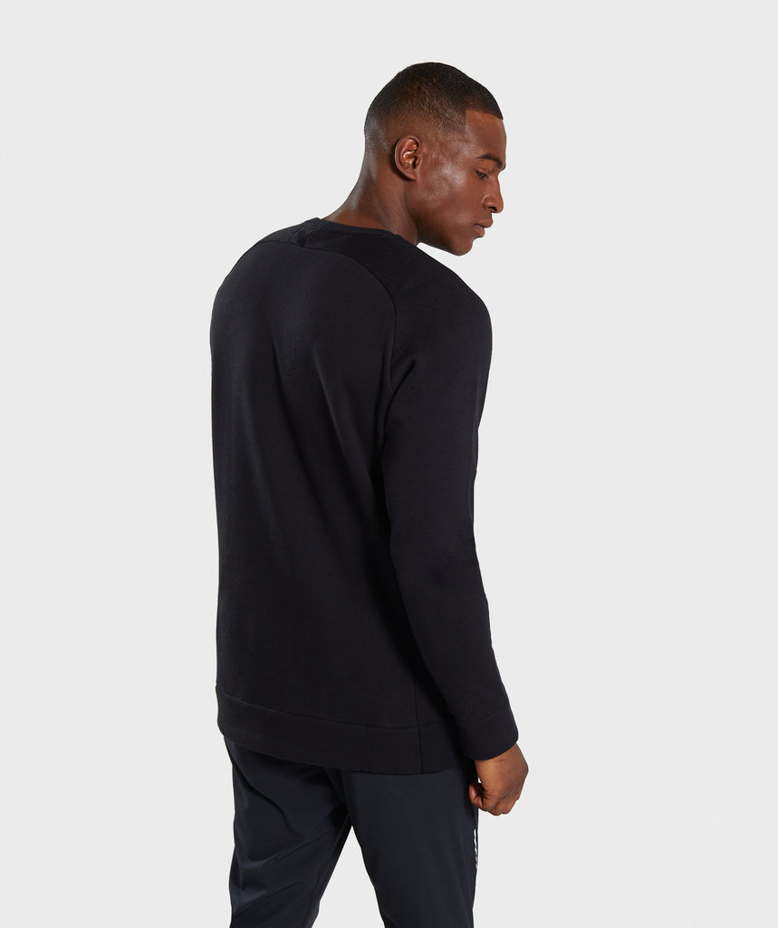 Gymshark Oversized Sweater - Black 2
