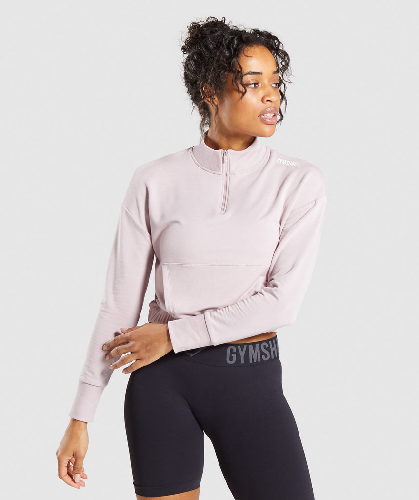 Gymshark Pippa Training Pullover - Pink 1