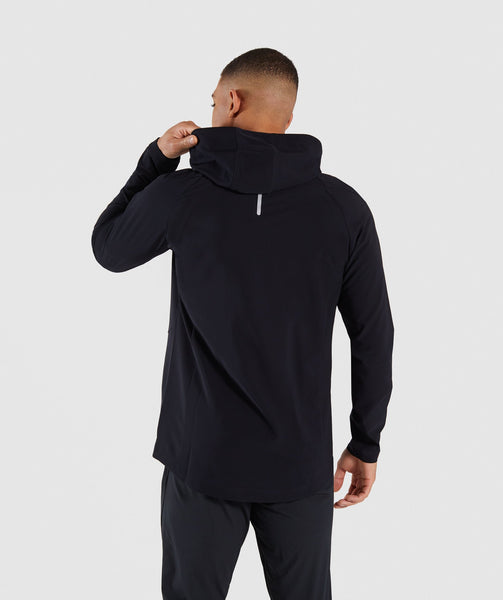 Gymshark Pace Running Jacket - Black 1