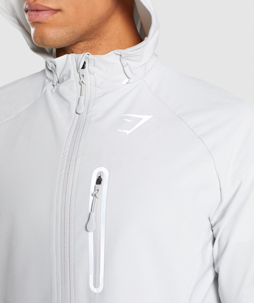 Gymshark Pace Running Jacket - Wolf Grey 5