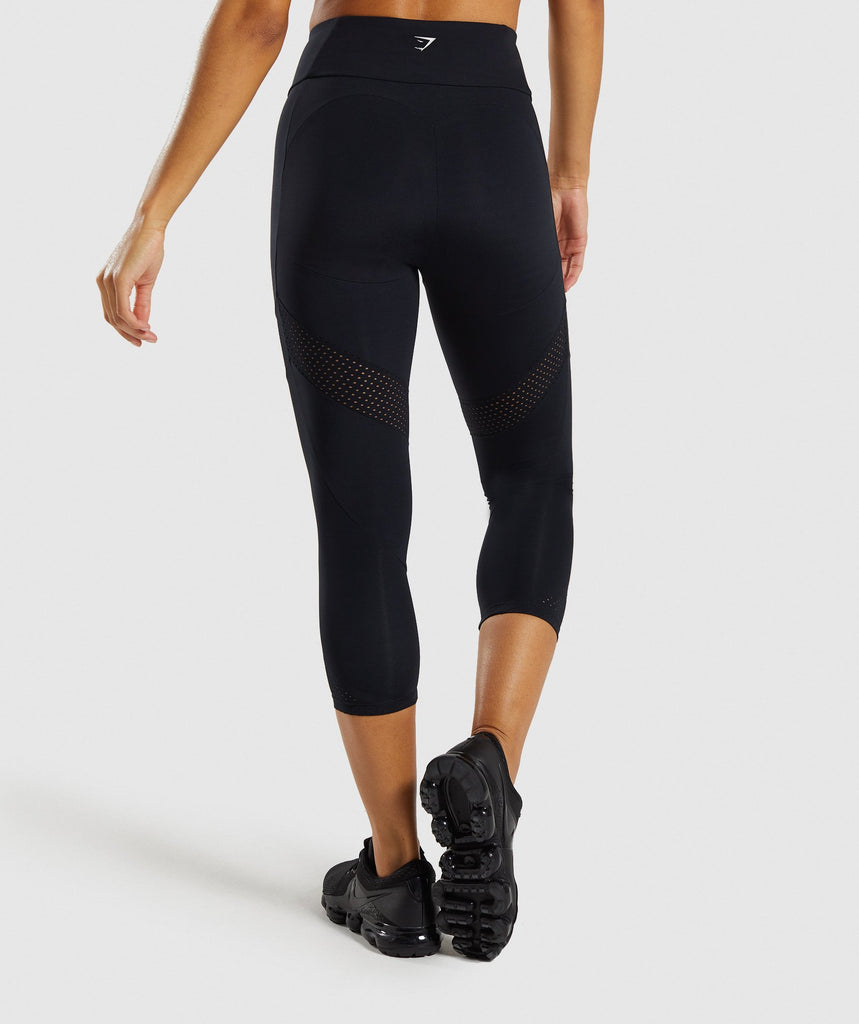 Gymshark Pro Perform Crop Leggings - Black 2