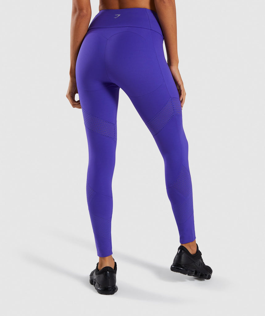 Gymshark Pro Perform Leggings - Indigo 2