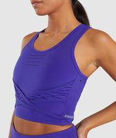 Gymshark Pro Perform Crop Top - Indigo 11
