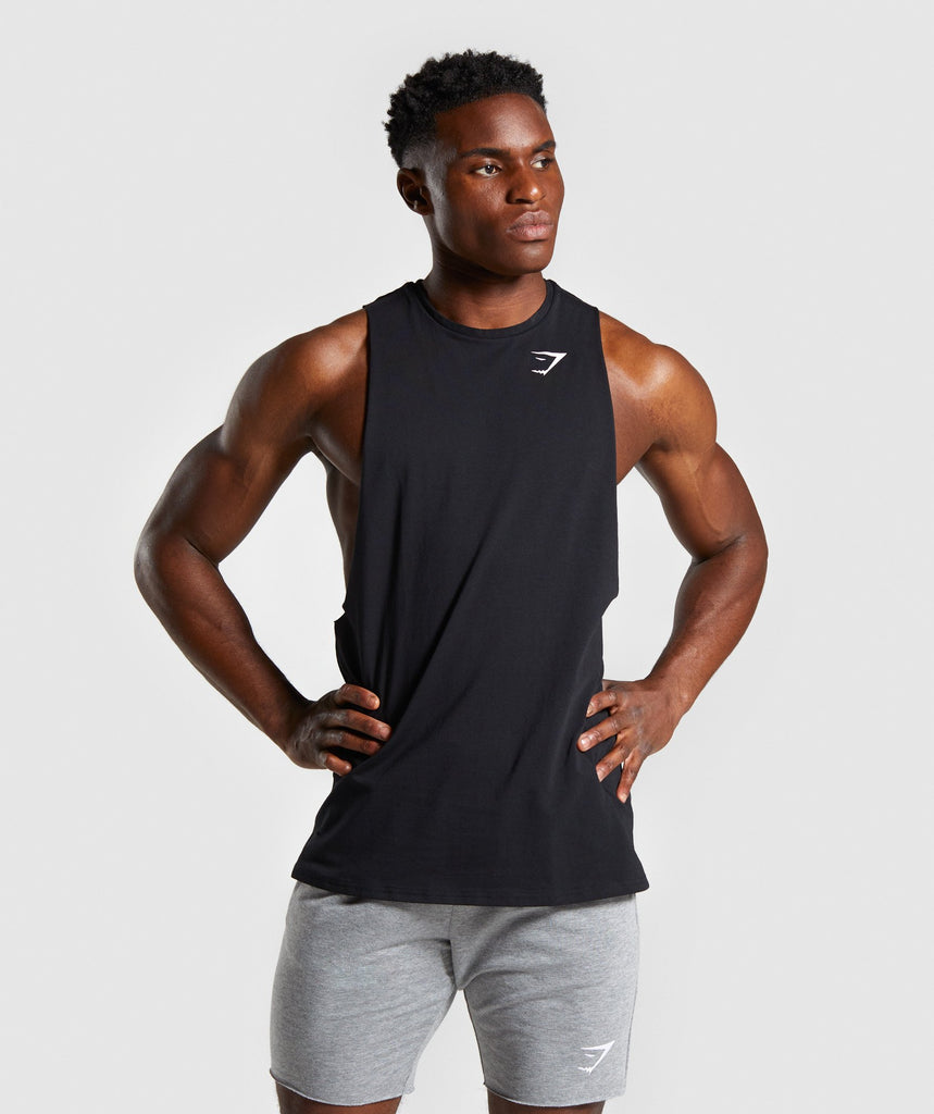 Gymshark Quote Tank - Black 1