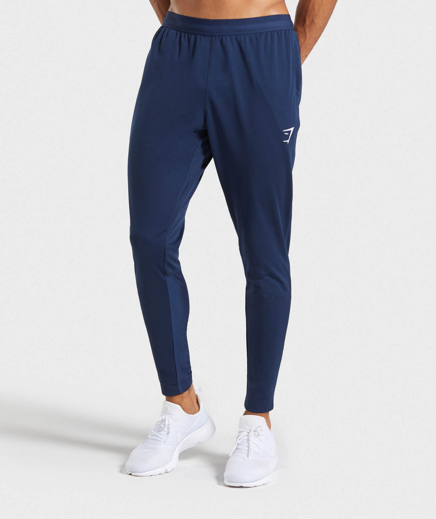Gymshark React Training Joggers -  Blue 1