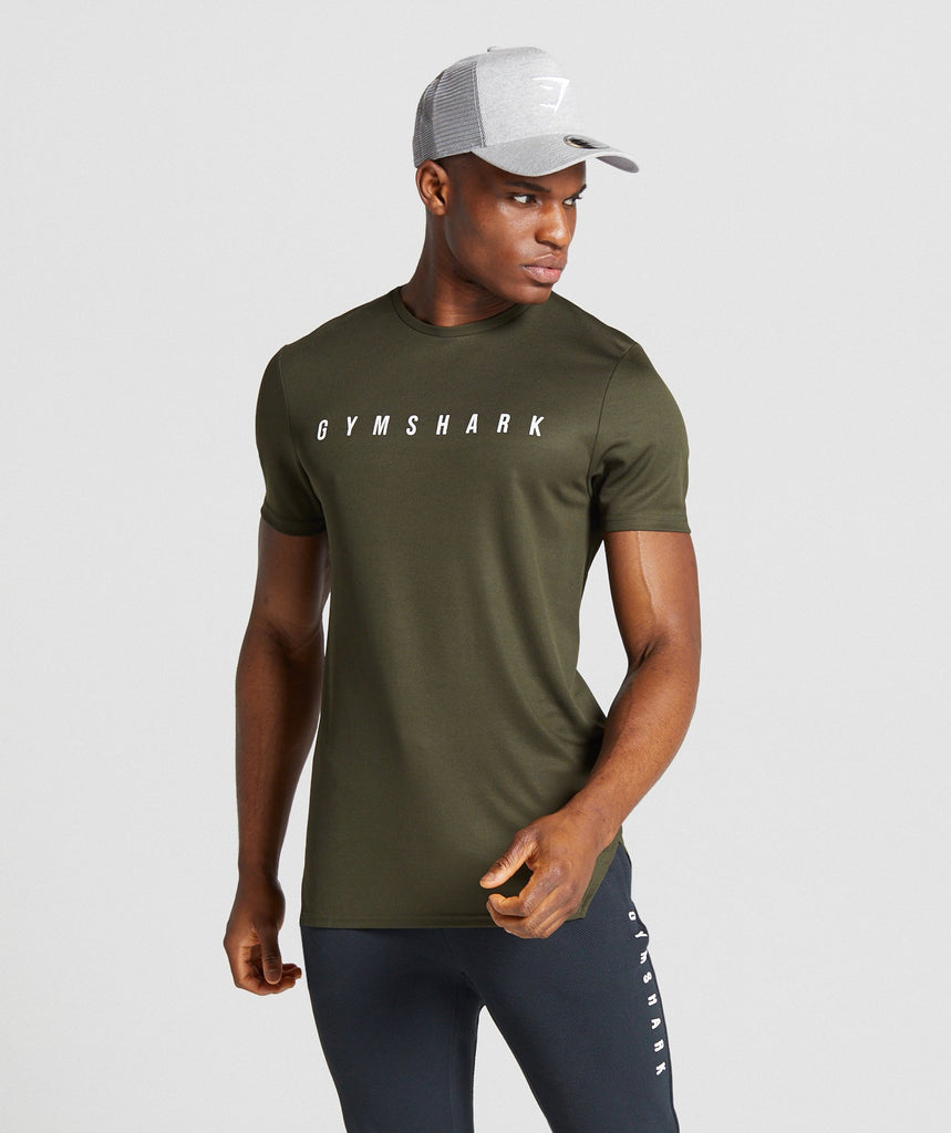Gymshark Recharge T-shirt - Green 1