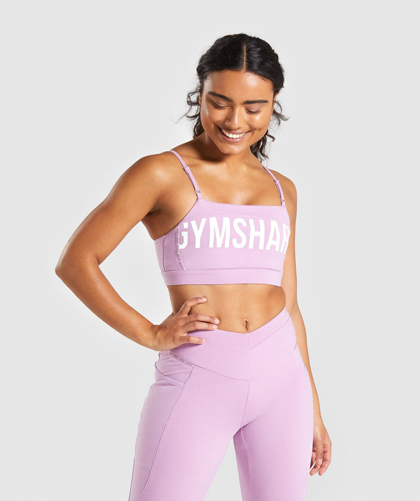 Gymshark Recess Sports Bra - Pink 1