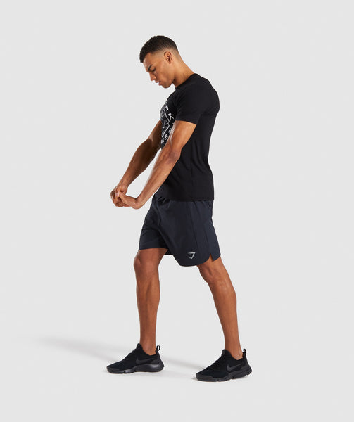 Gymshark Running Shorts - Black 3