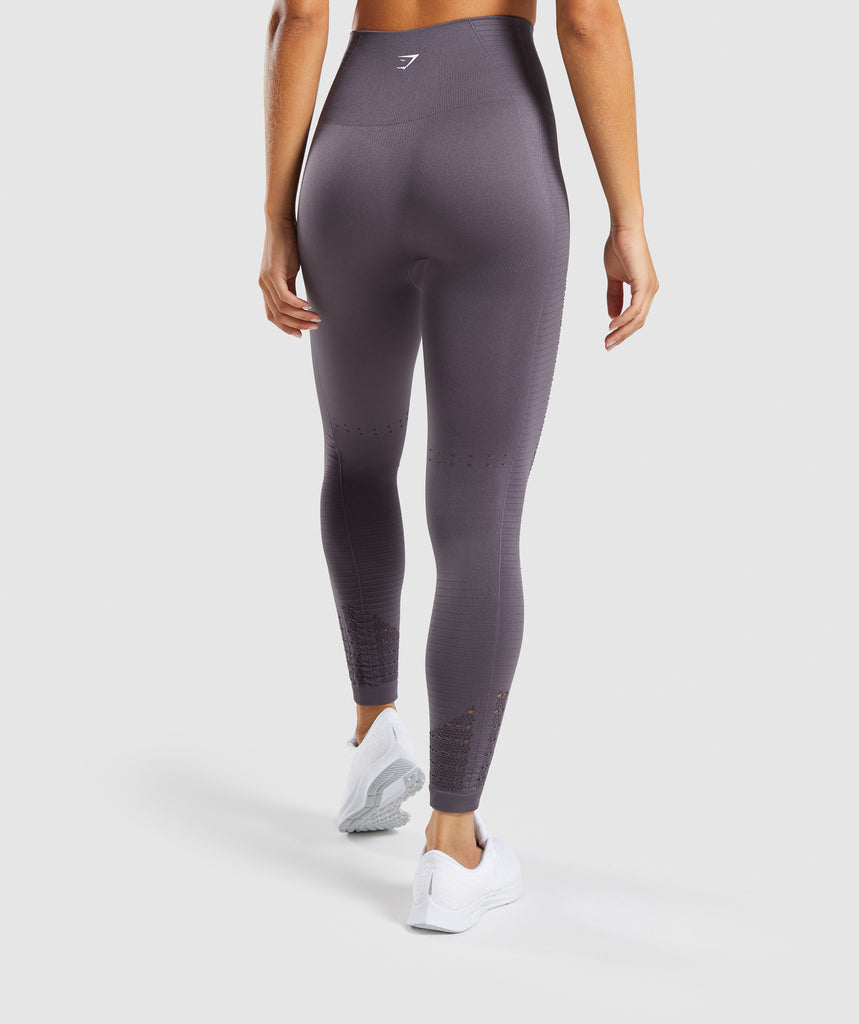 Gymshark Energy+ Seamless Leggings - Slate Lavender 2