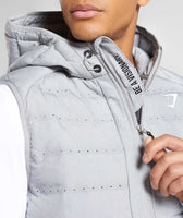 Gymshark Sector Gilet V2 - Light Grey 12