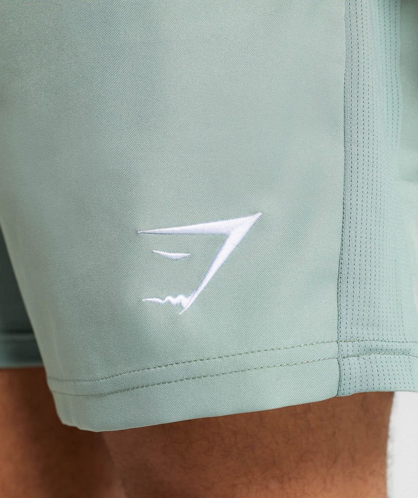 Gymshark Sport Shorts - Pale Green 6