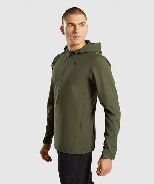 Gymshark Stealth Pullover - Woodland Green 2