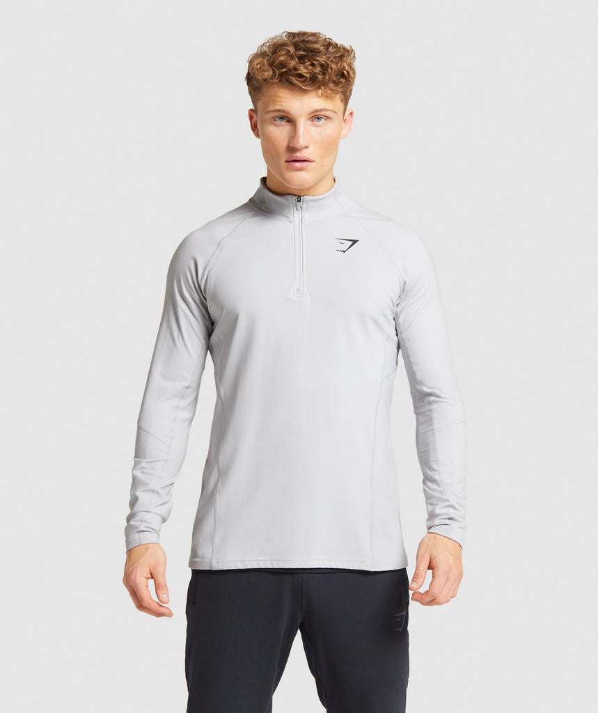 Gymshark Training 1/4 Zip Pullover - Grey 1