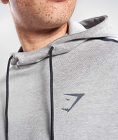 Gymshark Take Over Pullover - Light Grey Marl 10
