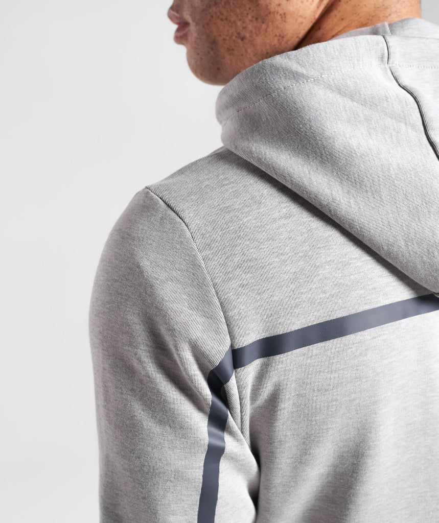 Gymshark Take Over Pullover - Light Grey Marl 5