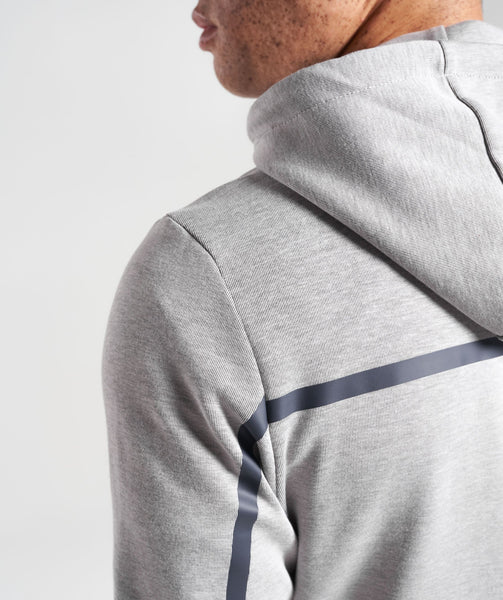 Gymshark Take Over Pullover - Light Grey Marl 4