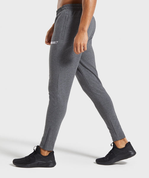 Gymshark Tapered Bottoms - Charcoal Marl 2