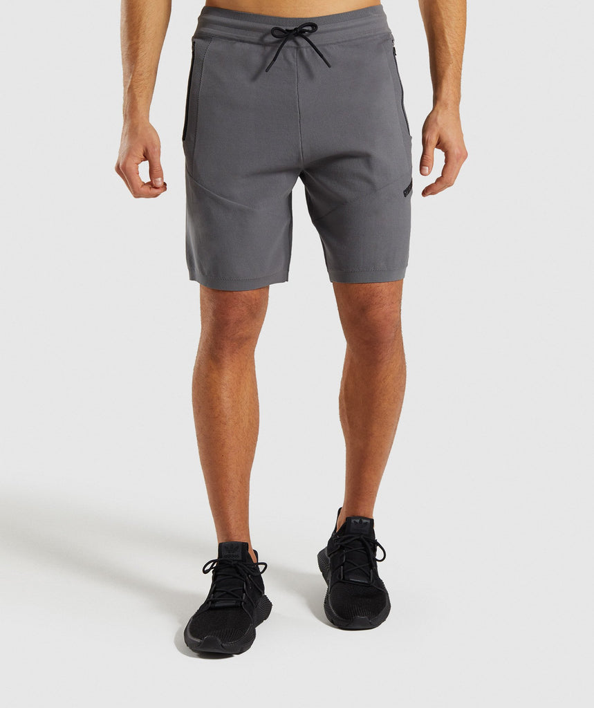 Gymshark True Knit Shorts - Smokey Grey 1