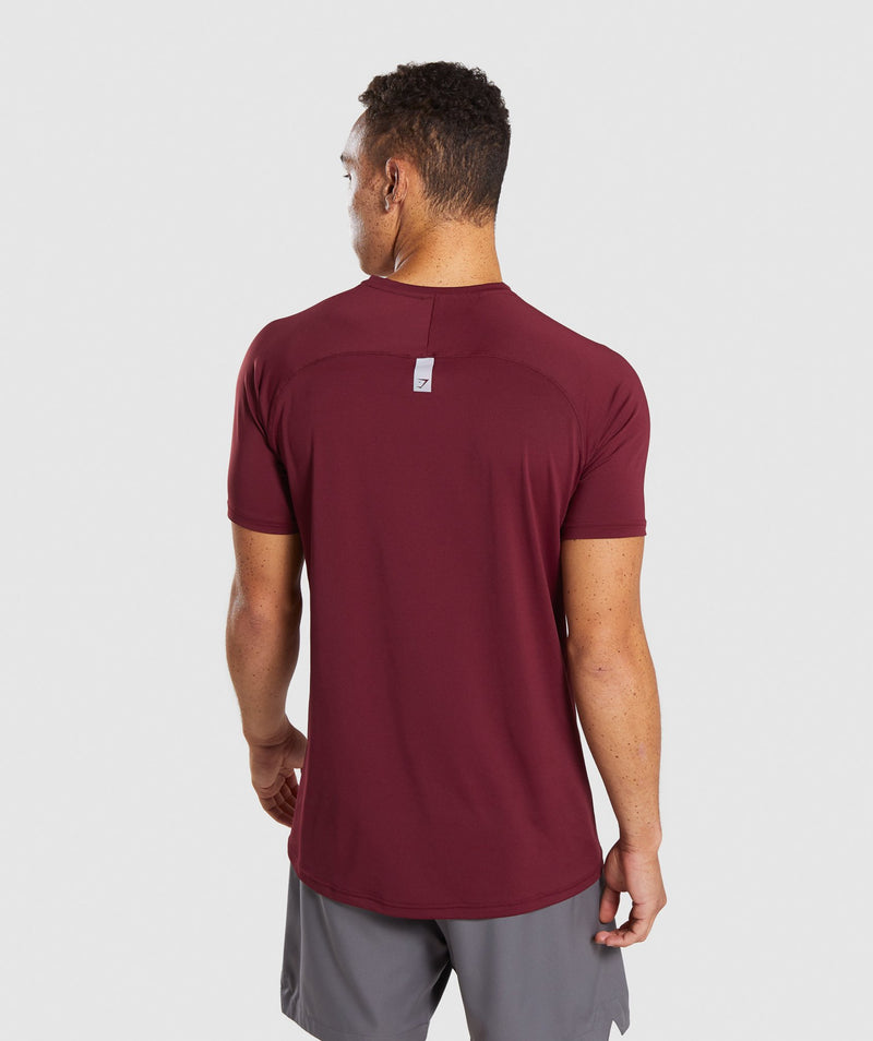 Gymshark Veer T-Shirt - Port
