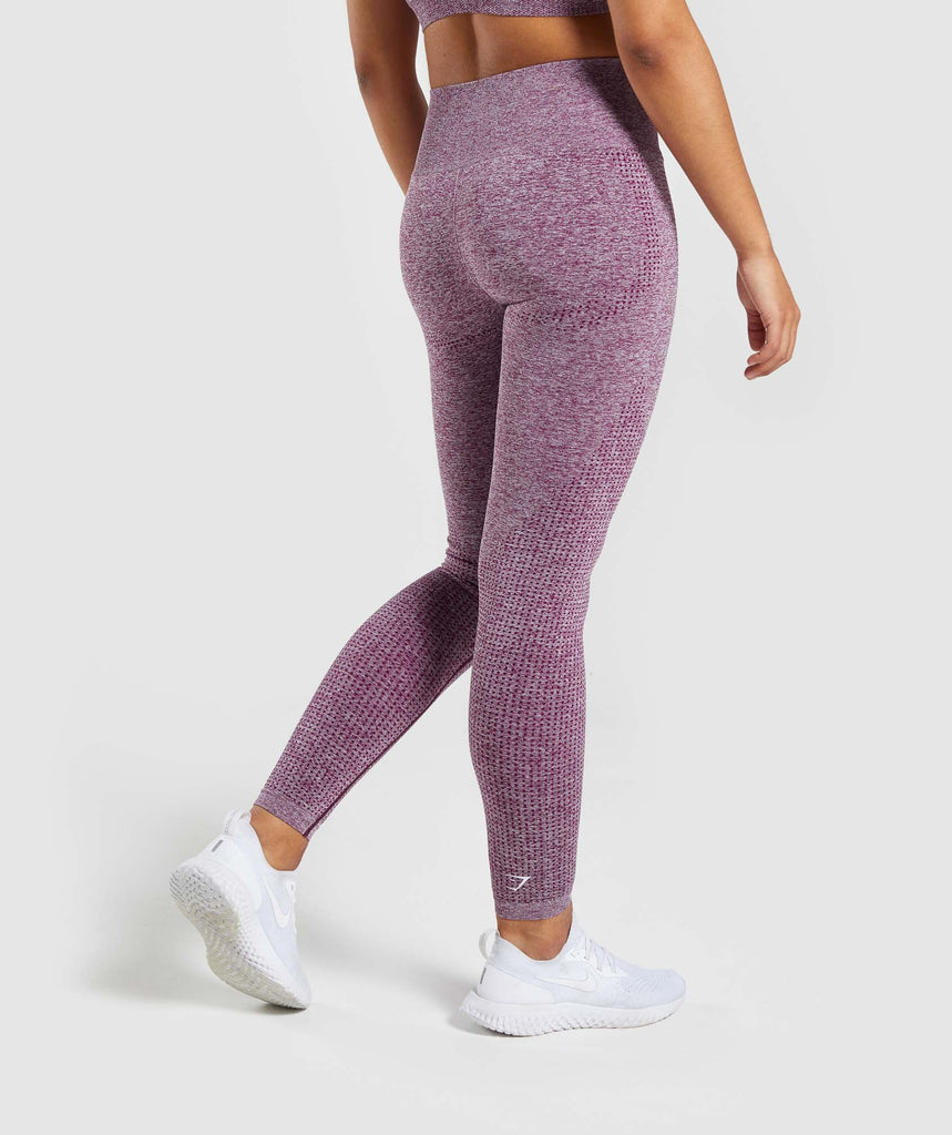 Gymshark Vital Seamless Leggings - Purple 2