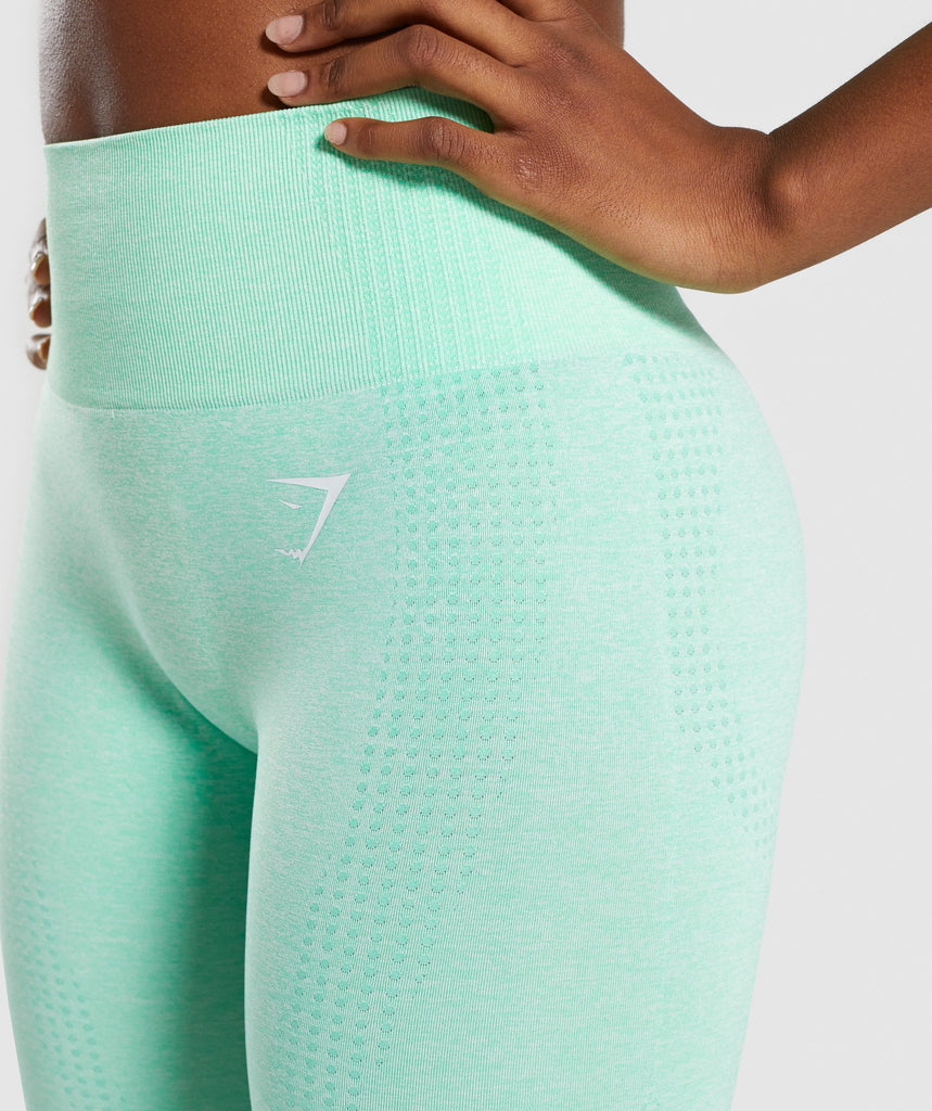 Gymshark Vital Seamless Leggings - Green 5