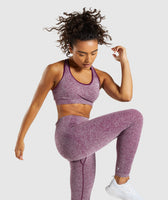 Gymshark Vital Seamless Sports Bra - Purple 9