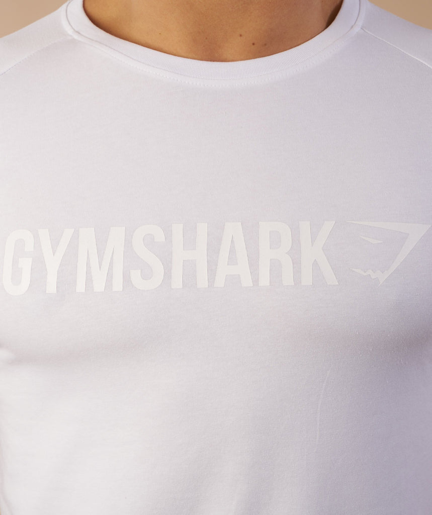 Gymshark Apollo T-Shirt - White 6