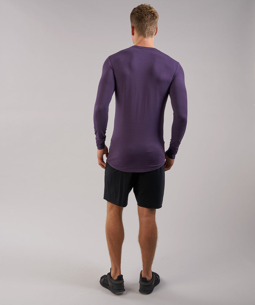Gymshark Ark Long Sleeve T-Shirt - Nightshade Purple 2