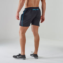 Gymshark Ascendant Gym Shorts - Black/Blue
