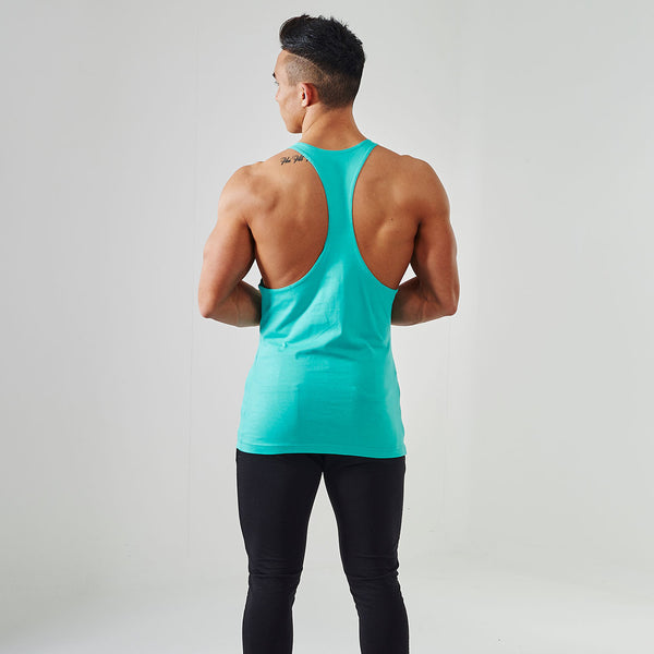 Gymshark Fitness Gym Stringer - Mint Green 3