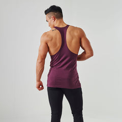 Gymshark Fitness Gym Stringer - Tyrian Purple