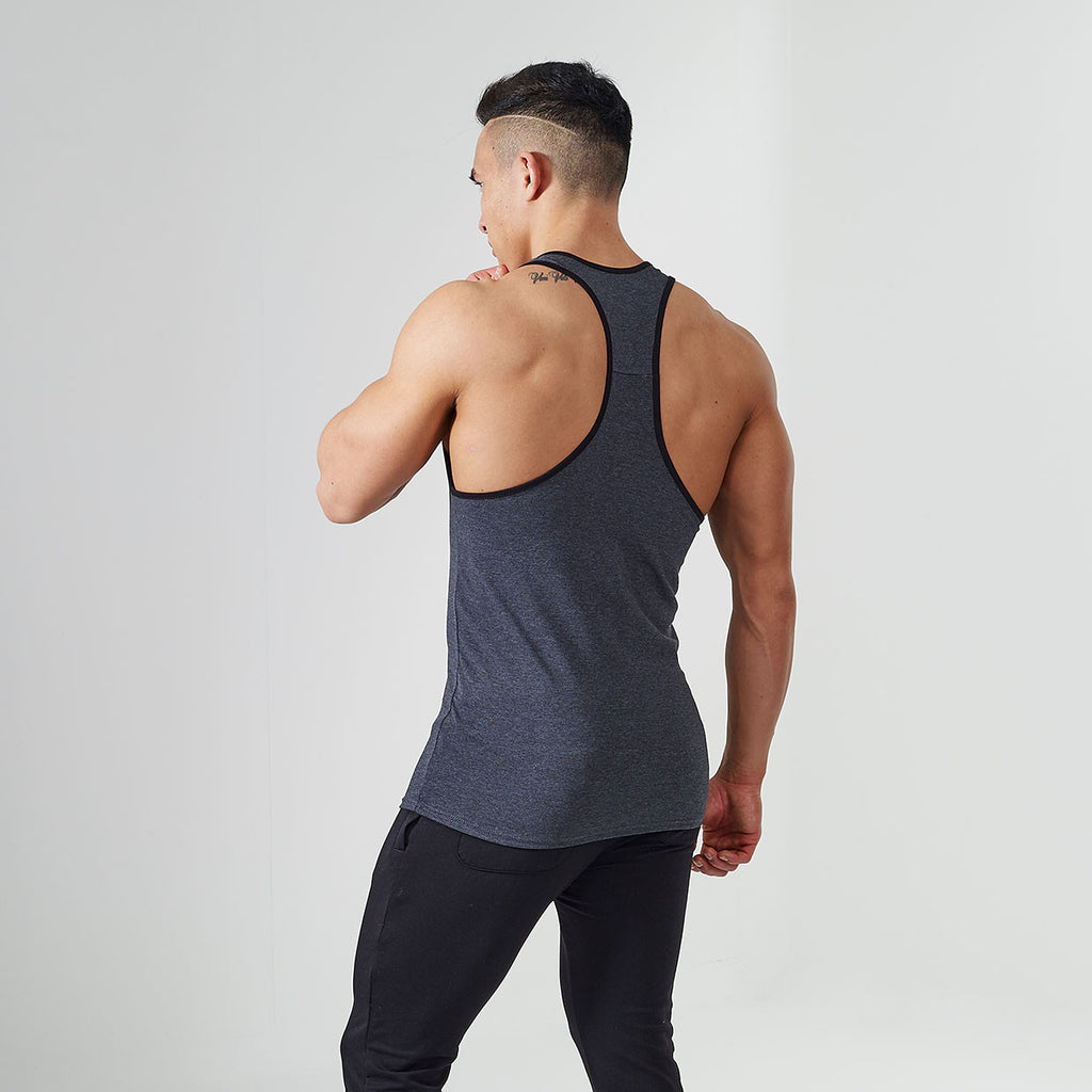 Gymshark ION Strike Gym Stringer - Grey
