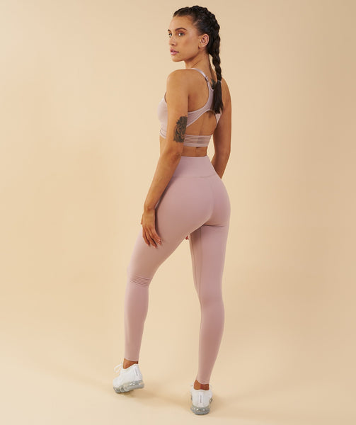 Gymshark Elite Sports Bra - Taupe 4