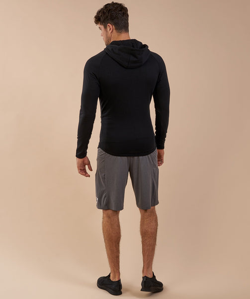 Gymshark Fit Hooded Top - Black 2