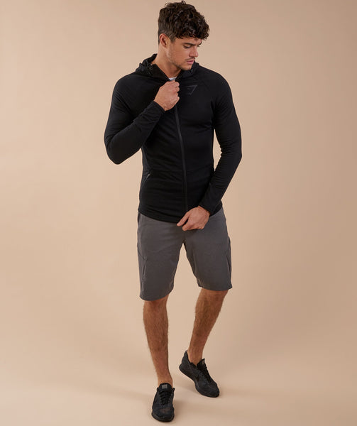 Gymshark Fit Hooded Top - Black 3