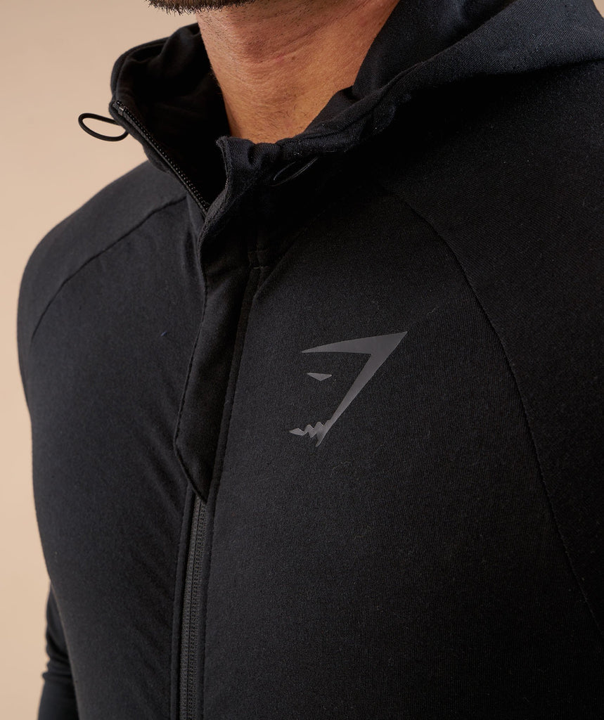 Gymshark Fit Hooded Top - Black 6