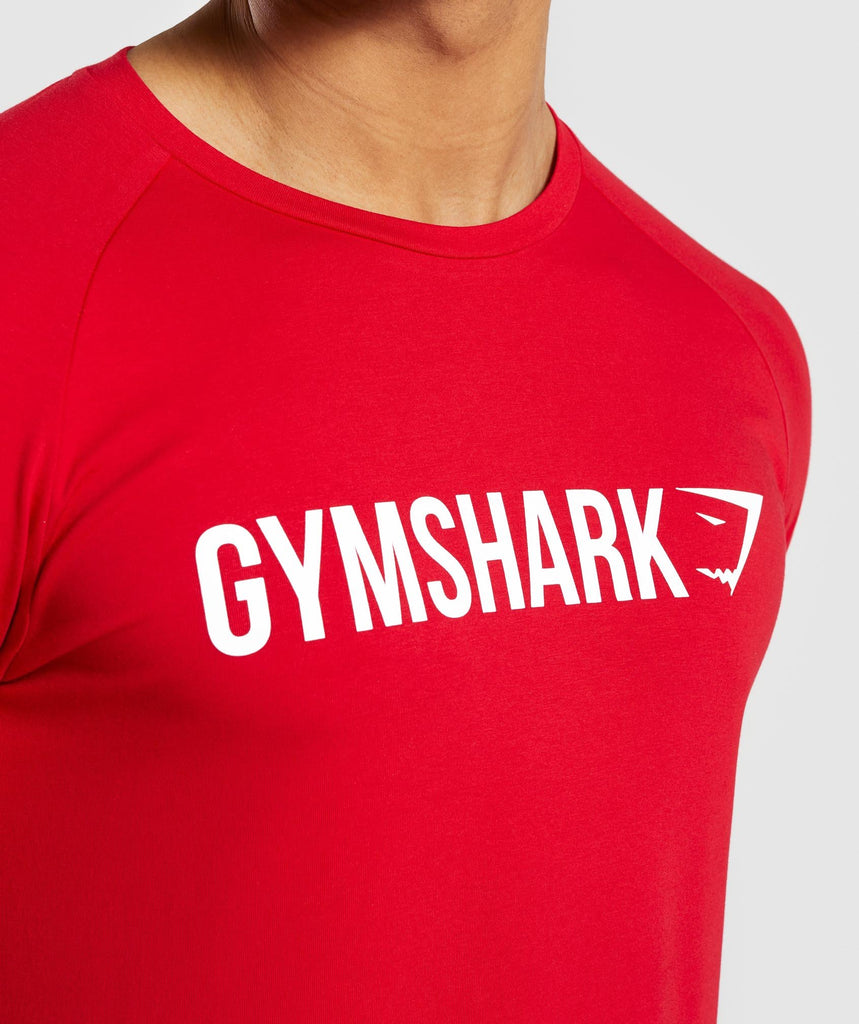 Gymshark Apollo T-Shirt - Red 5