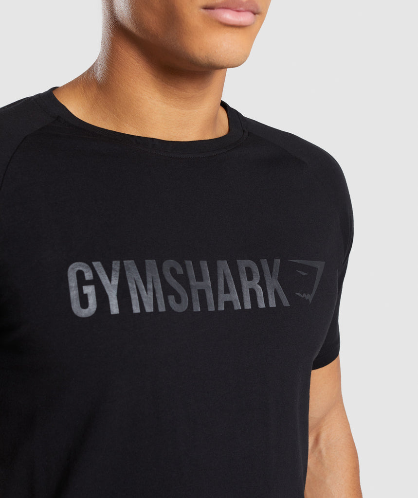 Gymshark Apollo T-Shirt - Black 6