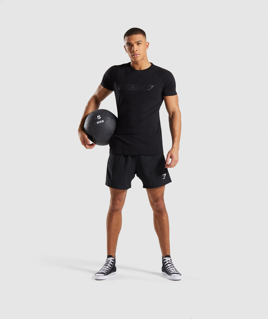Gymshark Apollo T-Shirt - Black 5
