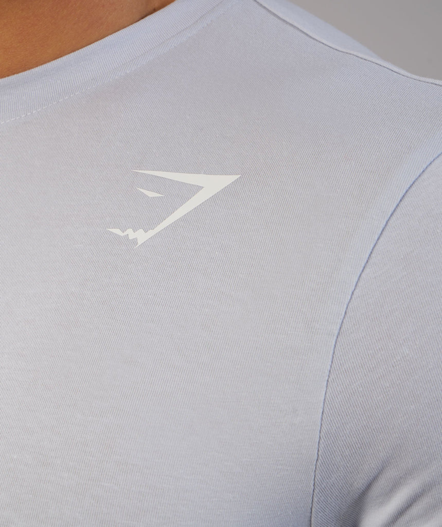 Gymshark Ark Long Sleeve T-Shirt - Clear Water 5