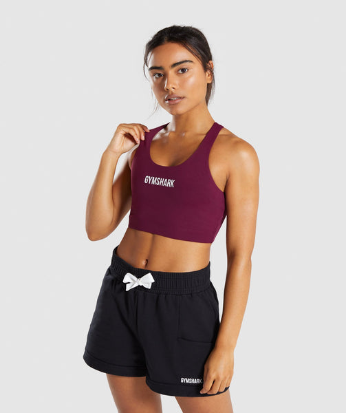 Gymshark Ark Sports Bra - Dark Ruby 4