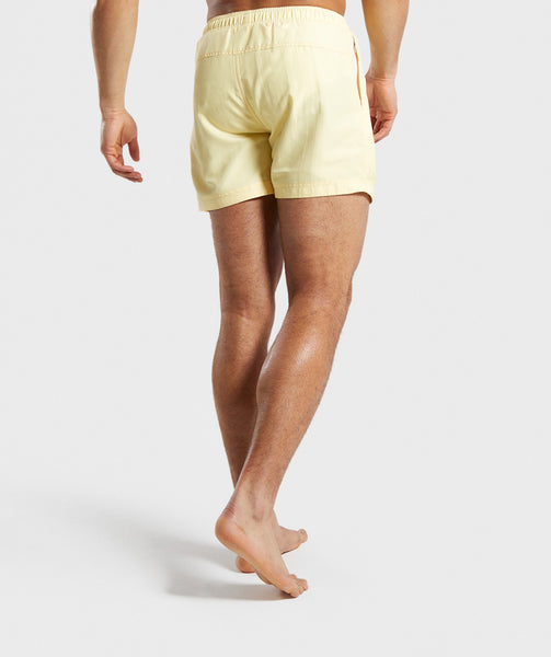 Gymshark Atlantic Swim Shorts - Yellow 2