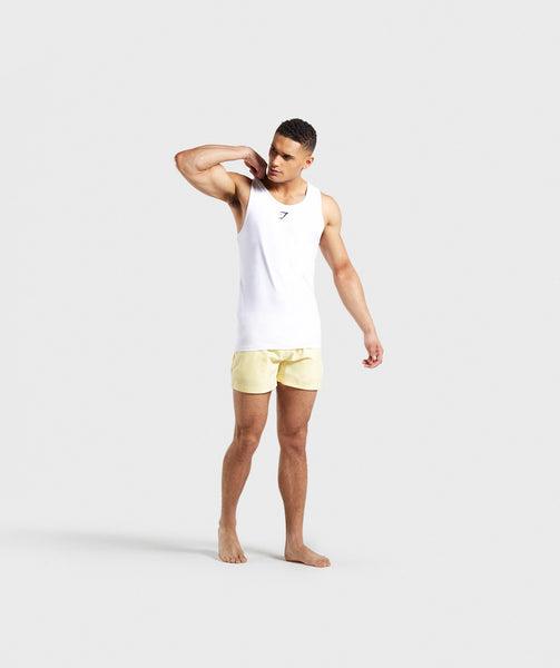 Gymshark Atlantic Swim Shorts - Yellow 3