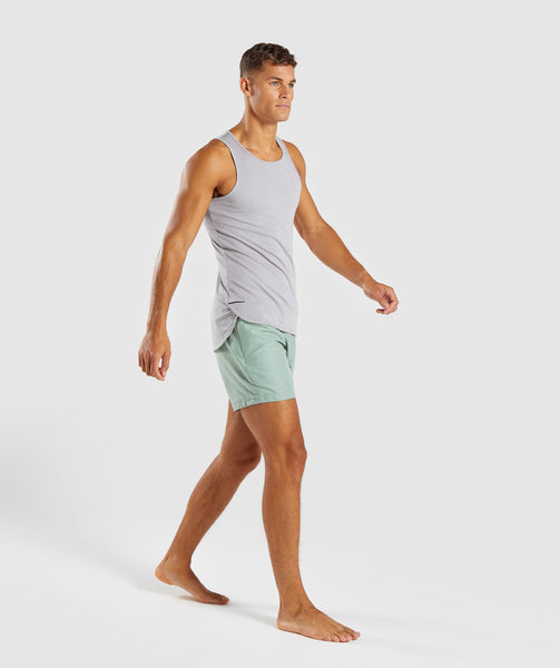 Gymshark Atlantic Swimshorts - Pale Green 3