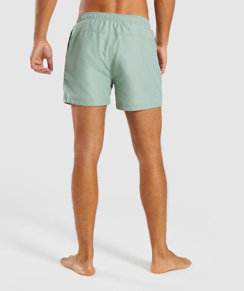 Gymshark Atlantic Swimshorts - Pale Green 1