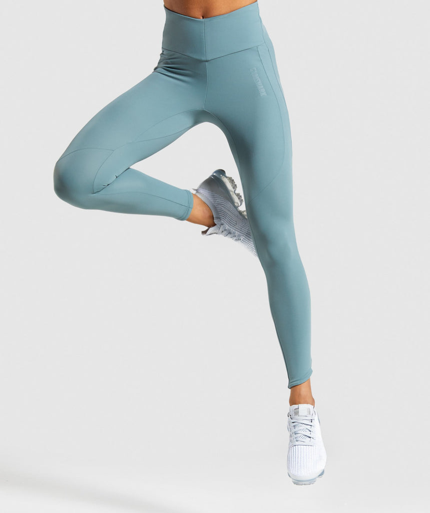 Gymshark Captivate Leggings - Turquoise 1