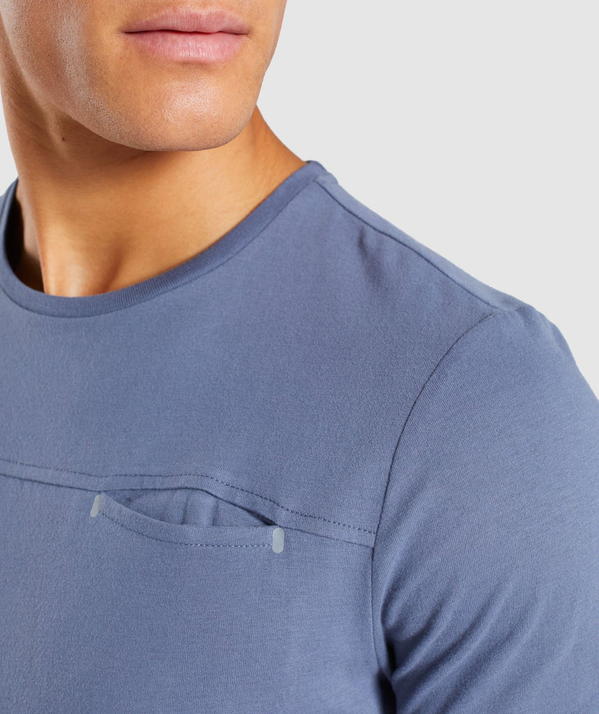 Gymshark City T-Shirt - Aegean Blue 6