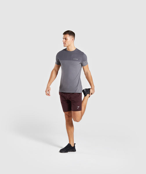 Gymshark Colour Block T-Shirt - Charcoal 3