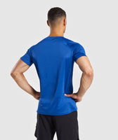 Gymshark Contemporary T-Shirt - Blue 8